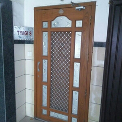 Mosquito Net Wooden Door & Mosquito Net Door Manufacturers Suppliers u0026 Dealers in Indore ...