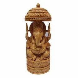 Shiva Arts Wooden Ganesh