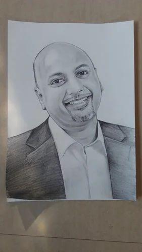 Portrait pencil sketching services