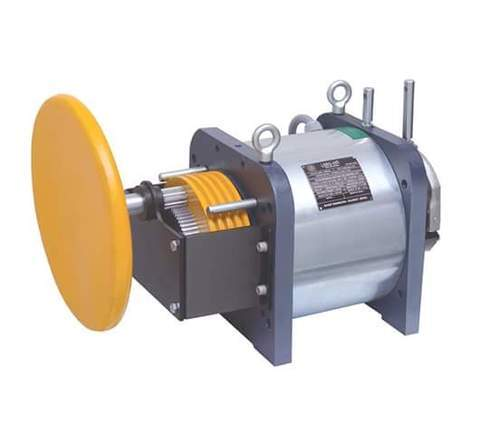 TIME ELEVATORS Single Phase Traction Machine, Model Name/Number: Mgx19