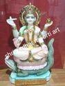 Goddess Narmada Marble Moorti