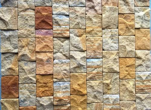 Wall Cladding Tiles Rock Face Mosaic Stone Tile Manufacturer From Jaipur