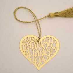 Brass Bookmarks