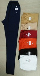 Kavi's,Kavis Plain Ladies Lycra 4 Way Bio Wash Leggings