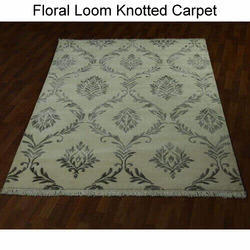 Floral Loom Knotted Carpets