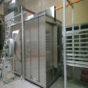 Three Phase Ss Walk In Powder Coating Booth
