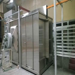 SS Walk In Powder Coating Booth