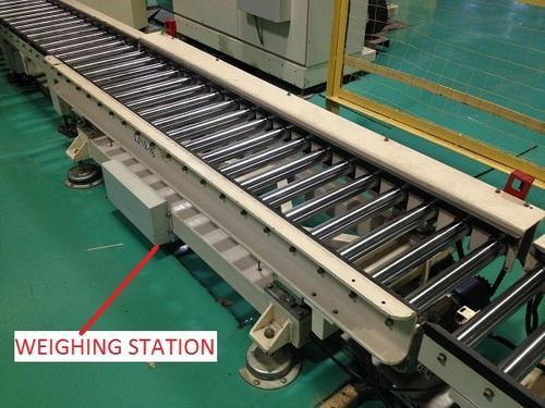 Conveyor System Driven Roller Conveyor With Weighing