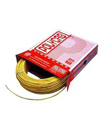1 Core Polycab PVC Insulated Copper Cable, For Electrical Fitting, Packaging Type: Box