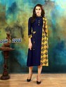 A-line And Straight Printed And Plain Rayon Cotton Kurti Catlogue