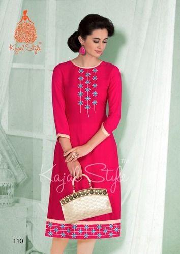 Cotton Embroidery Kurtis At Rs 499 Piece Cotton Ki Kasheede Wali