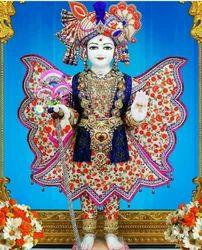 BM Art Marble Swaminarayan Statue