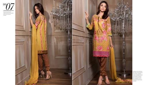 50eb0d739f Charizma Diamond Dust Eid Chiffon Suits 2016 - Salwar Kameez Wholesaler  from Delhi