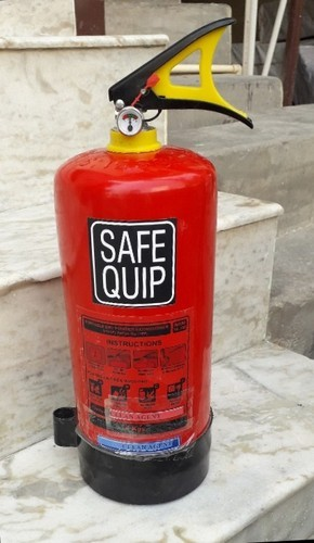 Safe Quip Mild Steel Clean Agent Fire Extinguisher 4 kg