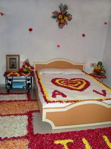 Wedding Bed Decoration Services Wedding Bed Decoration Service