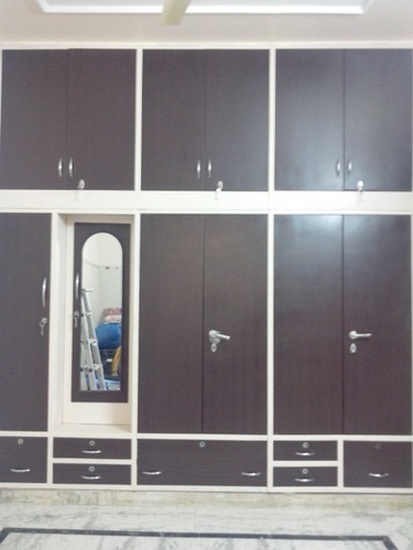 Stylish Modular Steel Wardrobe