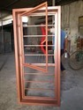 Powder Coated Ms Z Section Windows, For Residential