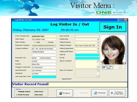 Visitor Management System At Rs 40000 Piece Visitor
