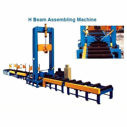 h beam assembling welding machine at rs 1800000 set एच ब म