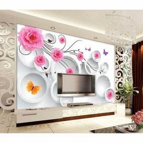 3d Room Wallpapers 3d À¤µ À¤²à¤ª À¤ªà¤° A2z Home Decor Jaipur Id 13839116973