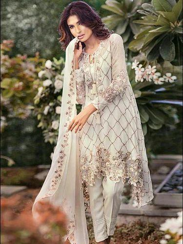 3871829cf6 Pakistani Georgette Salwar Kameez, Georgette Salwar Suits - D. C. ...