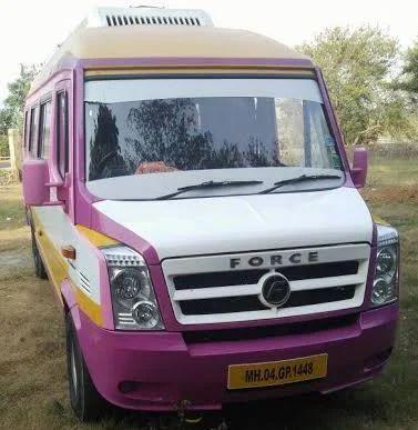 59222be3f0a1e7 17 Seater Tempo Traveler On Rent In Mumbai in Borivali East