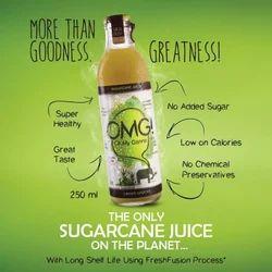 250 ml Sugarcane Juice at Rs 40/bottle