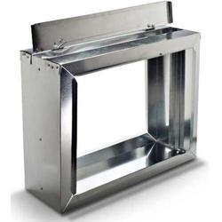 Stainless Steel HVAC Damper, Shape: Square