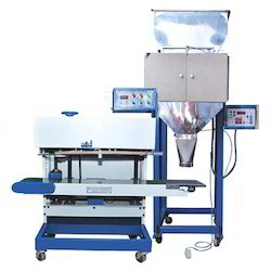 Vertical Pouch Sealer With Loadcell Weigher
