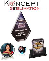 Sublimation Acrylic Trophies & Crystals