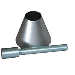 Cone and Tamper Sand Absorption