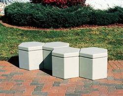 Hexagon Concrete Stool
