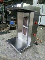Shawarma Machine with Gas Burner