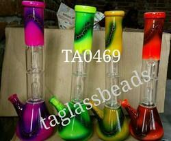 Hand Held Glass Smoking Water Pipe