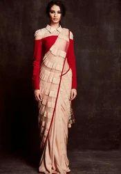 Ladies Cotton Designer Saree