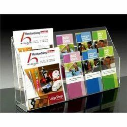 Acrylic Magazine Brochure Stand
