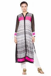 Styling Designer Printed Pakistani Style Long Kurta Suits