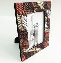 Lint Print Photo Frame
