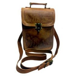 Genuine Leather iPad Shoulder Bag MESS147
