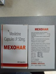 Mexiletine Capsules IP 50 mg