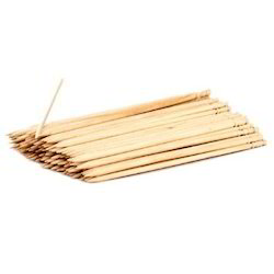 Natural Wood Wooden Satay Stick, For Party Supplies
