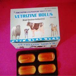 Vetrizine Trimethoprime Sulphadiazine Bolus