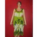 Rayon Crepe Short Dress