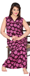 Ladies Printed Night Wear