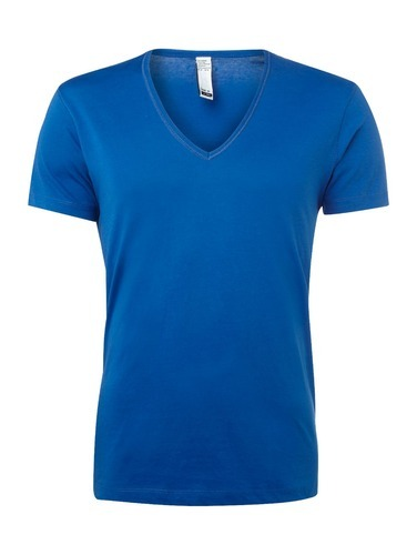 2f466c88ad0a Girls Cotton Plain V Neck T Shirt, Size: Small, Rs 150 /piece | ID ...