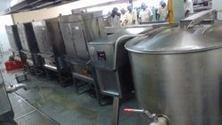 Industrial Induction Kitchen Equipment
