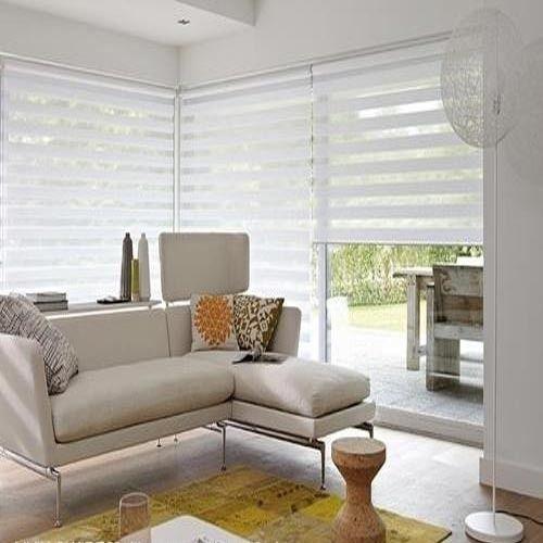 Pvc White Zebra Blinds Rs 350 Square Feet Window Techs