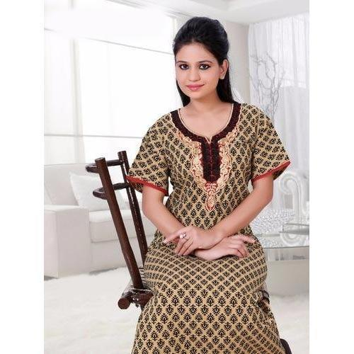 Cotton Night Gown at Rs 250  piece(s)  7daf4de62