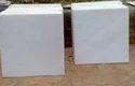 Square White Marble