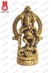 Ganesh Dancing on Cobra W/ Ring